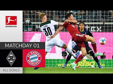Strong Opening Match   Borussia M'gladbach - FC Bayern München 1-1   All Goals   MD 1 – 2021/22
