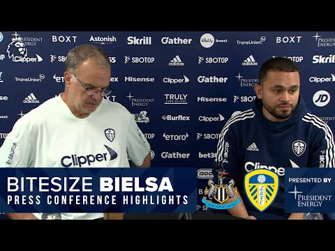 Team news, style of play, Bruce   Marcelo Bielsa press conference   Newcastle United v Leeds United