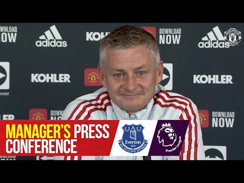 Manager's Press Conference | Manchester United v Everton | Ole Gunnar Solskjaer