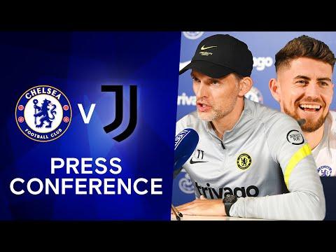 Thomas Tuchel & Jorginho Live Press Conference: Chelsea v Juventus | Champions League