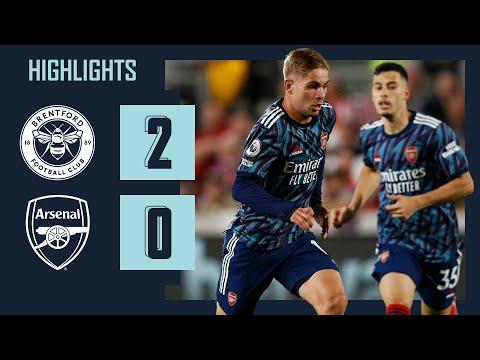 HIGHLIGHTS   Brentford vs Arsenal (2-0)   Canos, Norgaard