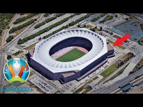 Euro 2021 Stadiums