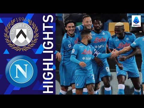 Udinese 0-4 Napoli | Napoli beat Udinese away from home | Serie A 2021/22