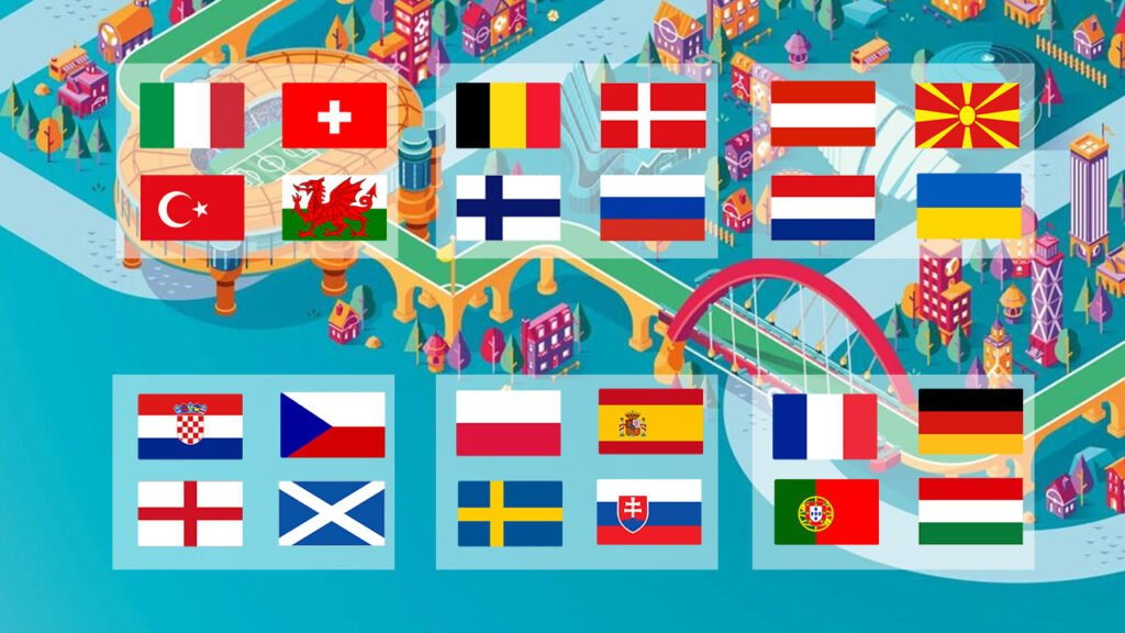EURO 2020 Fixtures Teams Groups Venues - thefootyscores.com
