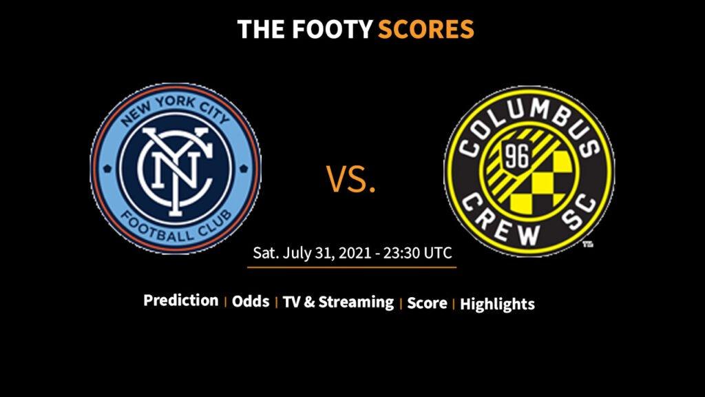 new york city fc vs colubus crew prediction and tips odds stream